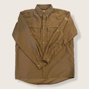 Drake Waterfowl Wing Shooters L/S Hunting Shirt